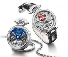 Triple time zone tourbillon