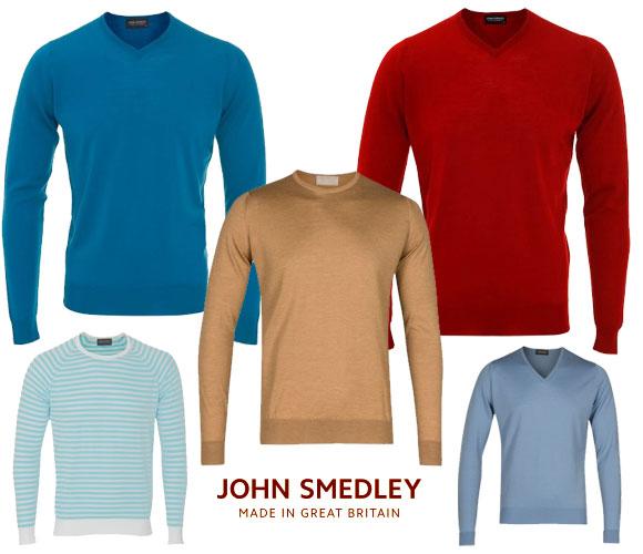 John Smedley erkek kazak modelleri