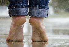 Erkeklerde ayak bakımı