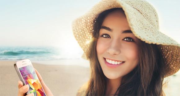 Samsung Kapak Kızı-Güzelmiş