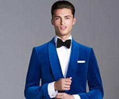 Erkek Modasında Mavi