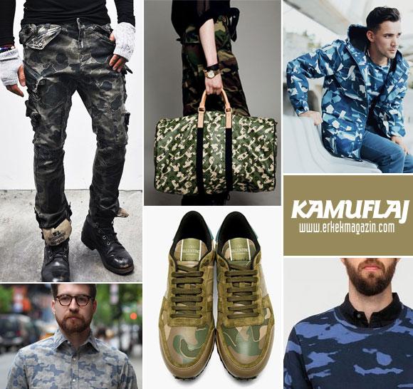 kamuflaj modası tasarımları