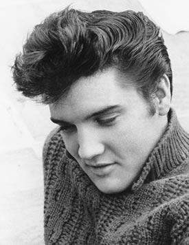 Elvis Presley Pompadour Saç Modeli