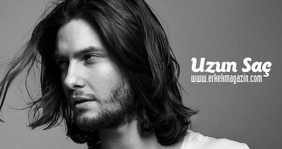 Erkeklerde uzun saç