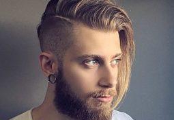 Erkekler için uzun saç katolgu