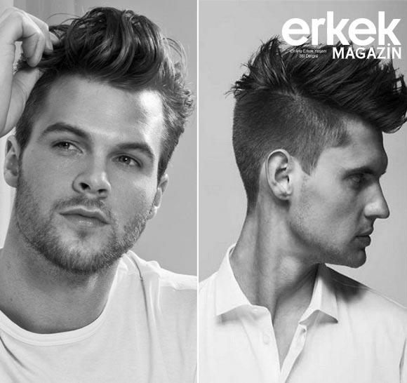Pompadour Saç Modelleri Kataloğu