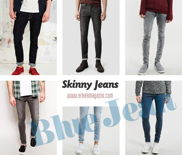 Skinny Jean Erkek Modelleri