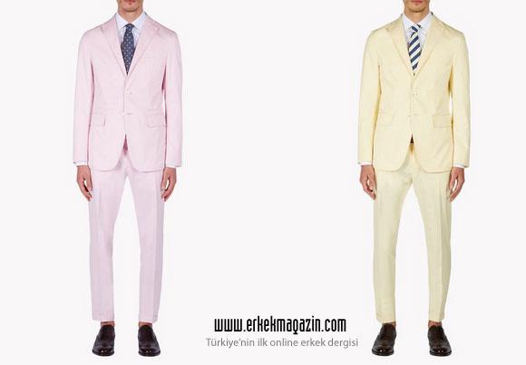 Dsquared2 2015 İlkbahar-Yaz Erkek Koleksiyonu Takım Elbise