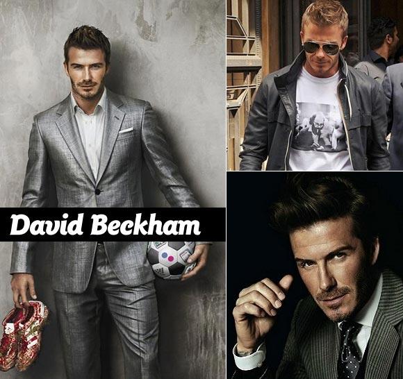 David Beckham stil