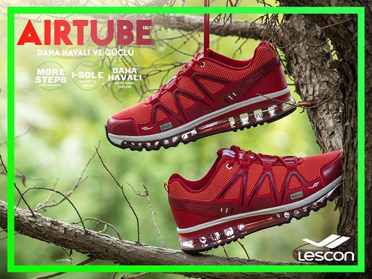 Lescon Erkek Spor Ayakkabıs Airtube jel