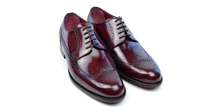 Oxblood Brogue Ayakkabı