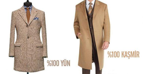 Yün ve Kaşmir Palto