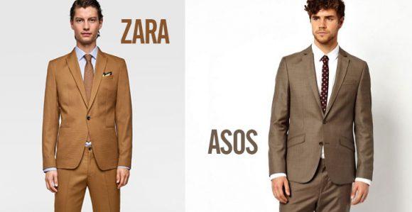 Kahverengi Takım Elbise