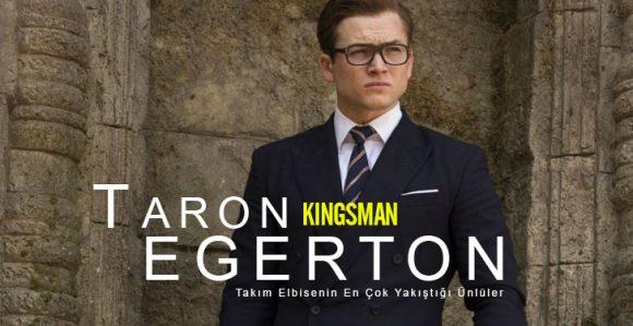 Taron Egerton Takım Elbise