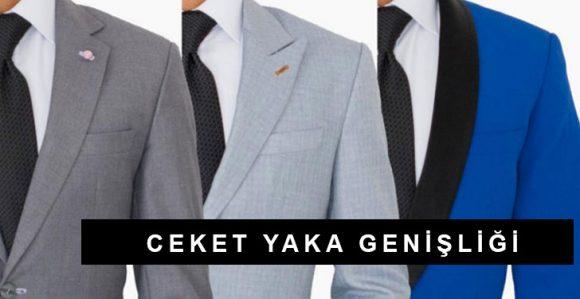 Ceket Yaka Genişliği